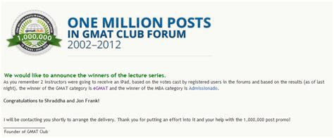 Club Mba Gmat by Memorial Day Deal The Gmat Club