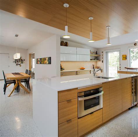 mid century kitchen island venice island mid century modern midcentury kitchen