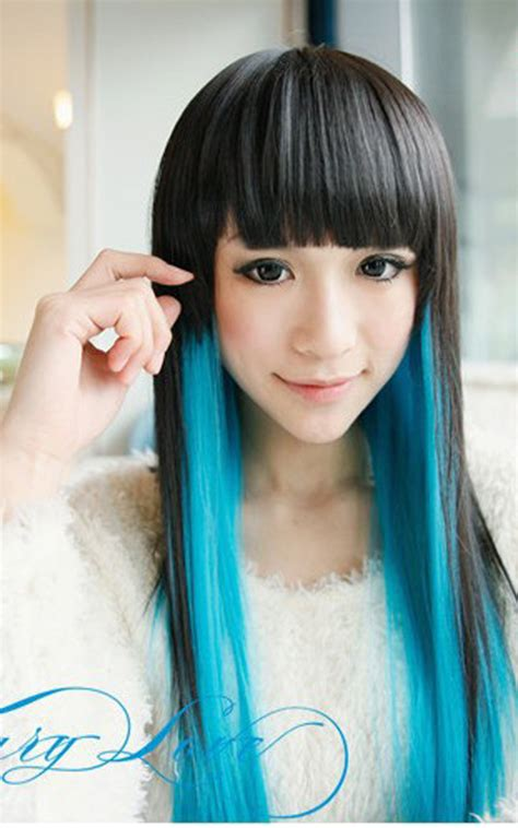 haircut coupons ta harajuku anime cosplay wigs with bangs straight long young