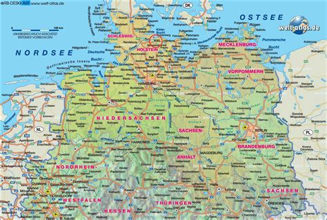 map northern germany northern germany maps