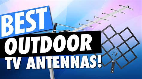 best outdoor tv antennas for 2018