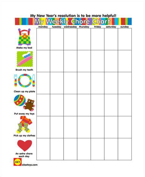 9 Chore Chart Templates In Pdf Free Premium Templates Chore Chart Template Pdf
