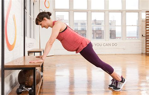 do push ups help bench press the pregnancy workout you can totally do