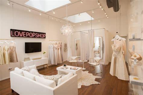 Wedding Boutique Layout | a peek inside a luxe feminine bridal salon designed on a