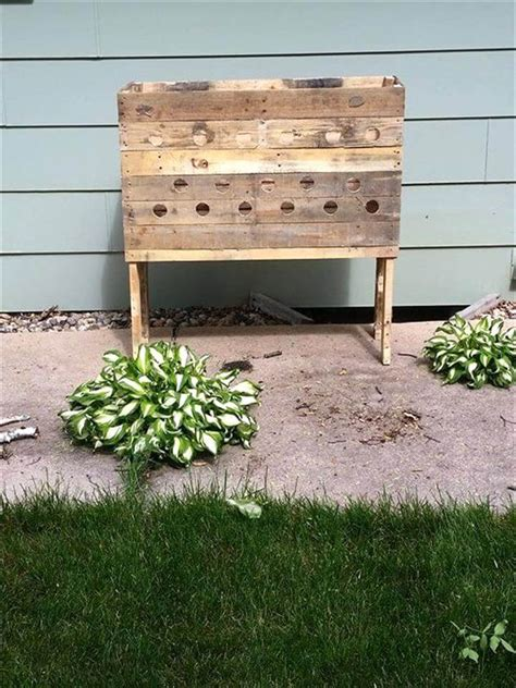 upcycled pallet planter designs