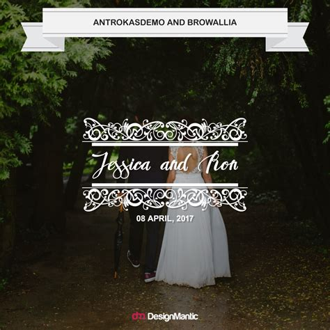 Wedding Font Pairings Free by Wedding Font Pairings Made For Each Other Designmantic