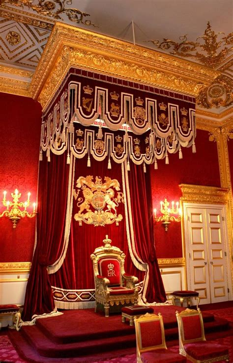 the throne room the throne room at st s palace the royals st s