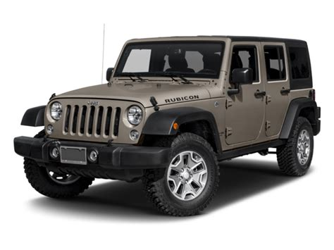 Price Of Jeep Wrangler New 2017 Jeep Wrangler Unlimited Prices Nadaguides