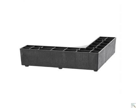 Sofa Leg Corner by Plastic Corner Leg 49mm X 210mm X 49mm