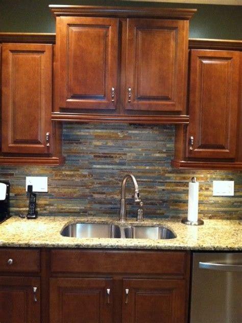slate backsplashes for kitchens slate kitchen backsplash ideas complete new kitchen