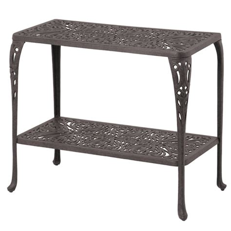 Patio Console Table The Tuscany Console Table By Hanamint Family Leisure