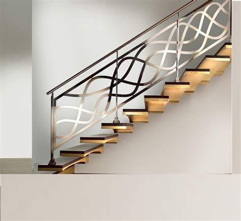 indoor stairs trends of stair railing ideas and materials interior