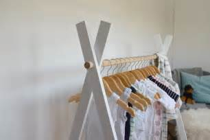Bathroom Stores Diy Kids Teepee Clothing Rack