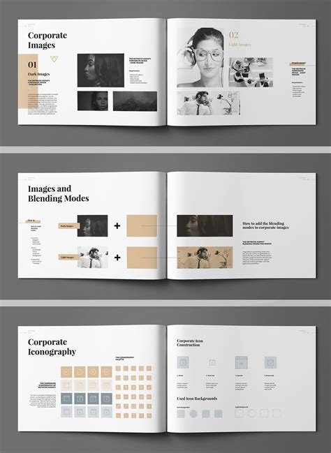 17 Best Brand Images On Pinterest Page Layout Adobe Indesign And Brand Guidelines Template Brand Identity Manual Template
