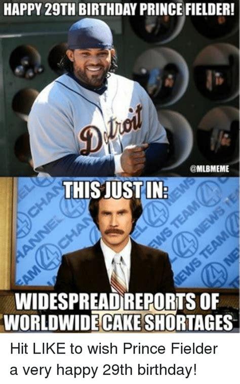 Prince Fielder Memes - funny birthday memes of 2016 on sizzle 9gag