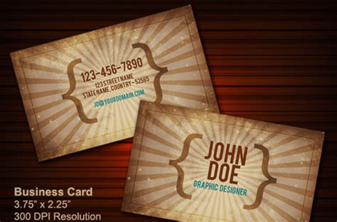 Totally Free Business Card Templates by 50 New And Absolutely Free Business Card Templates Psd