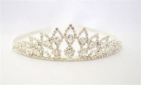 Mahkota Tiara Crown Bridal Shower Small With Veil Without Veil Sc0017 memorable gifts for the to be by yours exquisitely