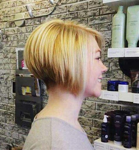 popular  inverted bob hairstyles short