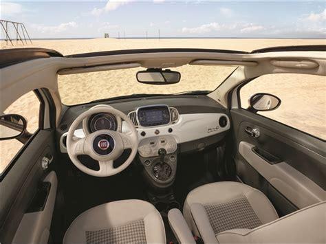 fiat 500 custom interior 2017 fiat 500 interior u s news world report