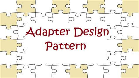 adapter pattern exles java adapter design pattern javabypatel