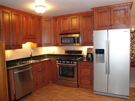 colors with stainless steel appliances dark oak kitchen lahy dark oak kitchen wood