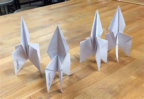 How To Fold A Paper Rocket - 17 best images about origami on hummingbirds