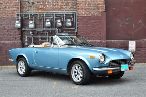 fiat spider 2000 for sale 1982 fiat spider 2000 rebuilt engines 1982 tractor