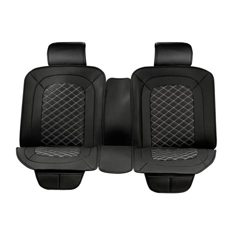 back car seat covers luxury series black car rear seat cover masque