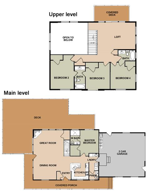 ponderosa floor plan ponderosa floor plan the ponderosa optional ridgeline