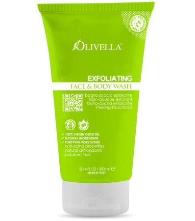 New Soap Exfloating Gel 400gr olivella usa olive exfoliating and care products exfoliating olive soap