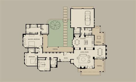 hacienda style floor plans small hacienda house plans hacienda style house plans with
