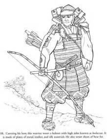japan samurai warrior coloring coloring sky