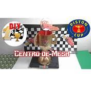 Dulcero O Centro De Mesa Cars Trofeo D&237a Del Padre