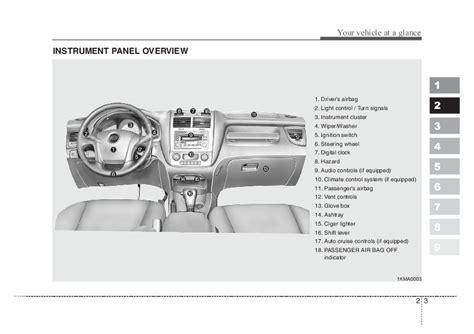 auto manual repair 2008 kia sportage electronic valve timing 2008 kia sportage owners manual