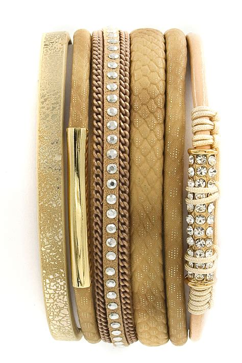 rhinestone faux leather bracelet rhinestone faux leather wrap bracelet bracelets