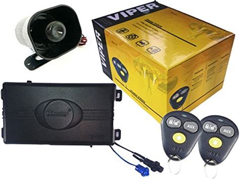 viper 3100v 1 way security system home security