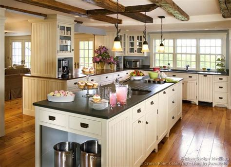 country kitchen design pictures and decorating ideas - Country Kitchen Layouts