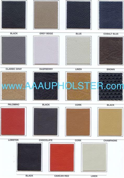 Porsche Panamera Interior Colors by Oem Colors Leather Vinyl For Porsche Interiors