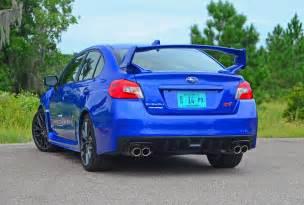 subaru sti limited 2018 subaru wrx sti limited spin review test drive