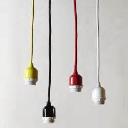 Pendant Light Cord Pendant Cord Set Modern Pendant Lighting By West Elm