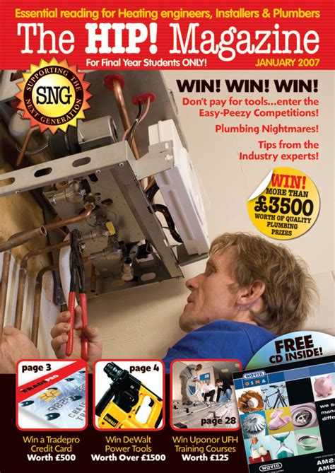 Plumbing Magazines by Lunatrix Design Company Newsletter Magazine Design