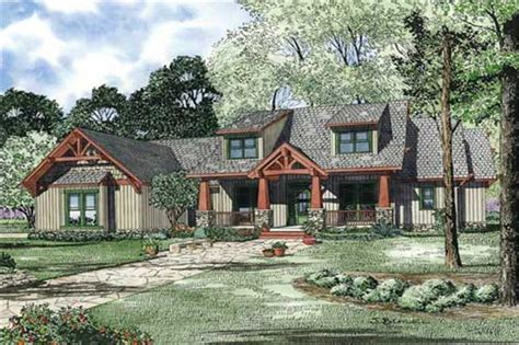 craftsman style house plan four bedrooms plan 153 1020