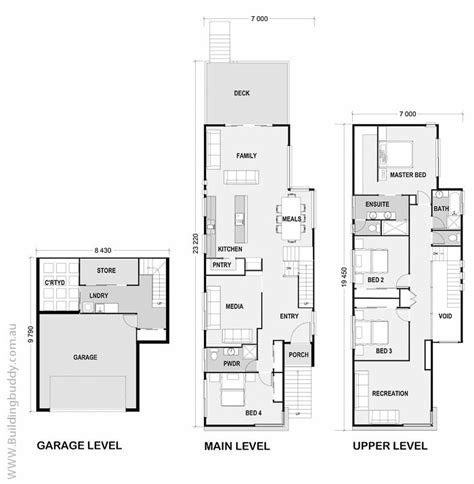 102 best images about townhouse floor plans on pinterest 95 best townhouse floor plans images on pinterest