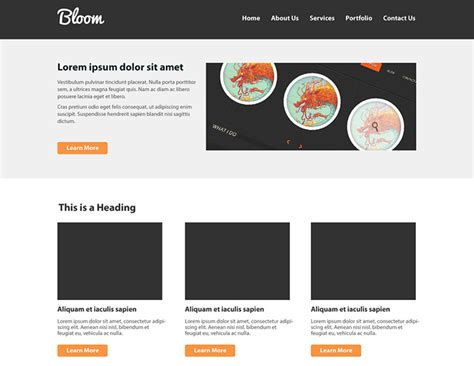 layout home page 40 best tutorials to design website templates in