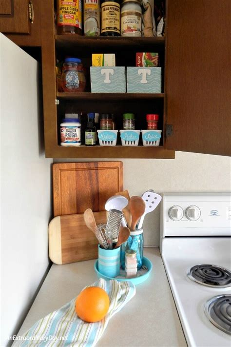 kitchen counter organizers chaotic kitchen cabinets easy terrific organizer ideas to