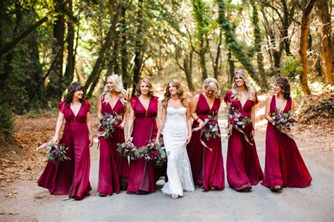 bridesmaid pictures ends of the earth big sur diy wedding confetti fields