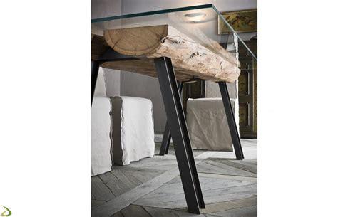 lade da tavolo vendita on line tavolo con tronchi in legno renni arredo design