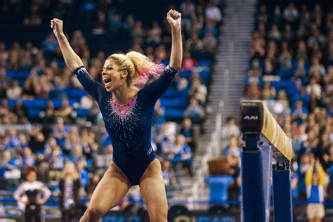 Or Gymnastics Gymnastics Meets Expectations With Season High Win Against