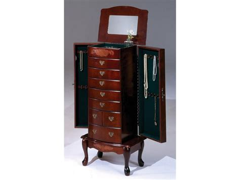cheval mirror jewelry armoire belham living swivel cheval mirror jewelry armoire home
