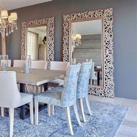comedores decorados 25 comedores decorados con espejos decoracion de